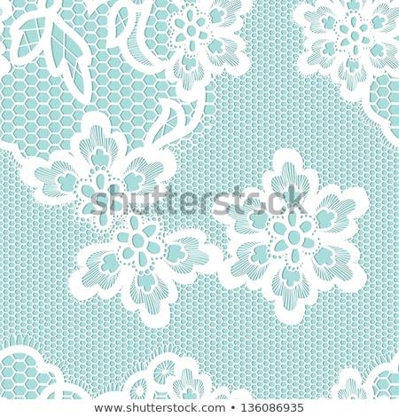 végtelen · minta · rózsaszín · szívek · fehér · valentin · nap · esküvő - stock fotó © beholdereye