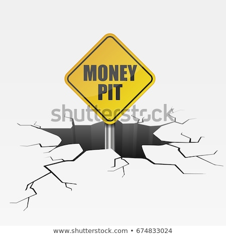 Money in the pit Stock photo © bluering