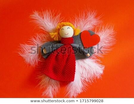 天使 赤 中心 医療 アイコン ストックフォト © Twinkieartcat