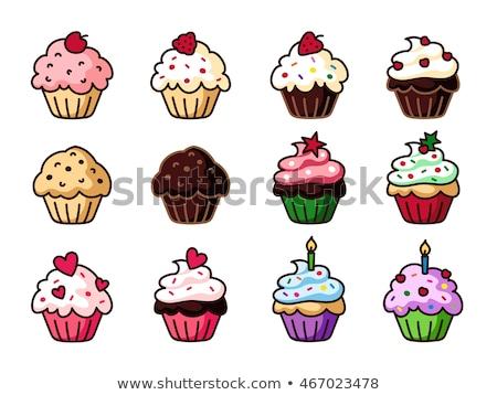 Ilustración vector clipart alimentos fiesta Foto stock © doddis