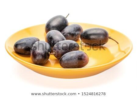 Eight oranges Stock photo © bluering
