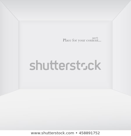 Witte exemplaar ruimte soortgelijk 3D kamer eps10 Stockfoto © ExpressVectors