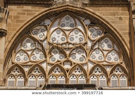 Moskee kathedraal Cyprus hemel gebouw reizen Stockfoto © Kirill_M