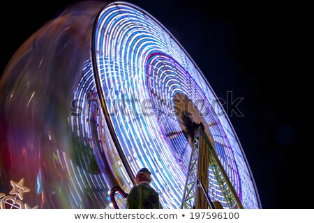 Stock photo: Sensation of speed