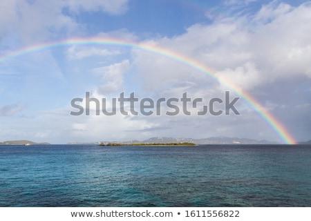 Stock fotó: Karib · sziget · Virgin-szigetek · nap · tájkép · nyár