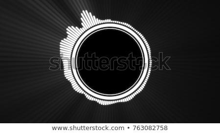 audio spectrum waveform abstract graphic display stock photo © stevanovicigor