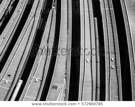 london · bridge · железнодорожная · станция · поезд · промышленности · промышленных - Сток-фото © julian_fletcher