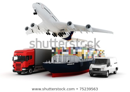 world wide cargo transport concept 3d illustration stock photo © tussik