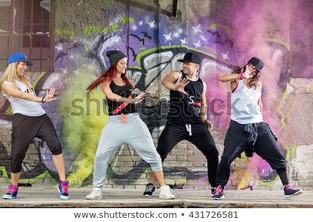 people dancing hip hop Stock photo © adrenalina