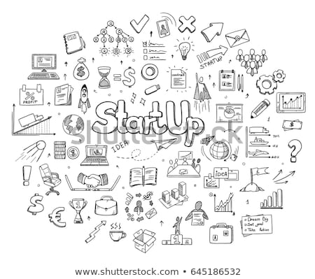 raket · icon · abstract · illustratie · logo - stockfoto © rastudio