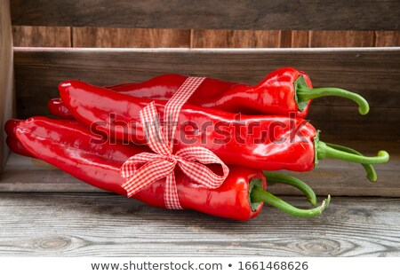 Stock photo: Roasted Romano Peppers