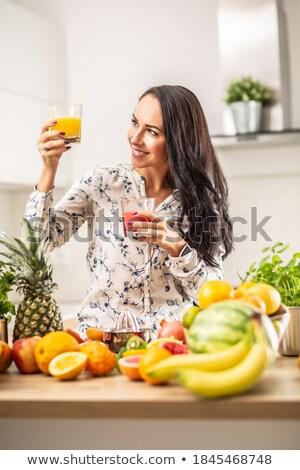 女性 · 手 · 緑 · リンゴ · 明るい · 画像 - ストックフォト © svetography