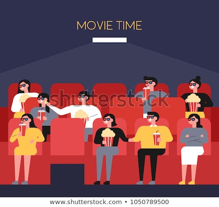 Popcorn Vector Illustration in Flat Style Design   Stock photo © robuart