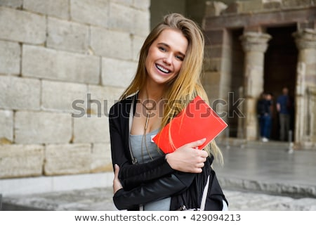 tour guide girl in egypt stock photo © adrenalina