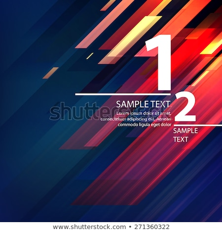 Black and blue abstract background with diagonal lines, vector illustration Stock photo © kurkalukas