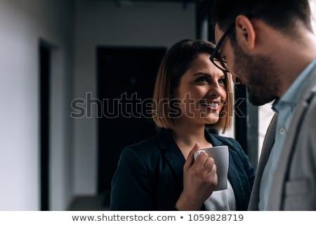 Work romance. Stock photo © Fisher