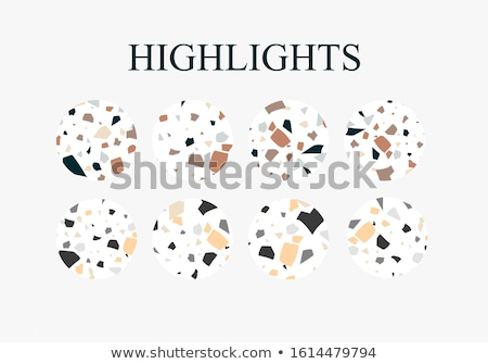 shopping buttons   granite icons stock photo © micromaniac