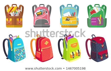 vector illustration of opened school notebook stock photo © sonya_illustrations