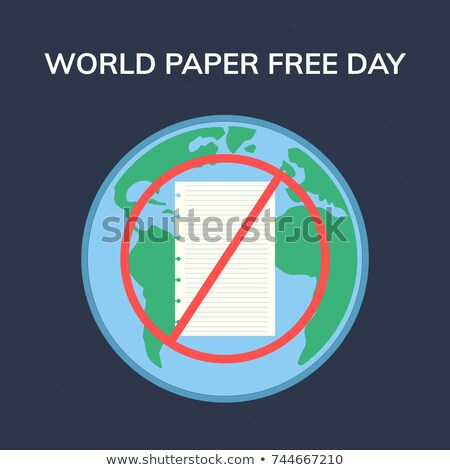 26 october World Paper Free Day Stock photo © Olena