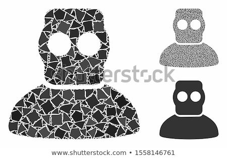 Diver Armor Flat Icon Stock photo © ahasoft