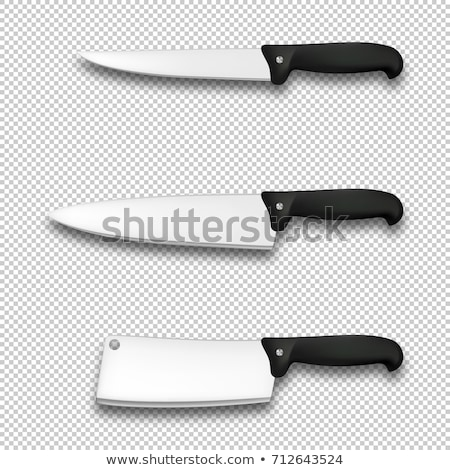 Kitchen Knife Isolated Stock photo © benchart
