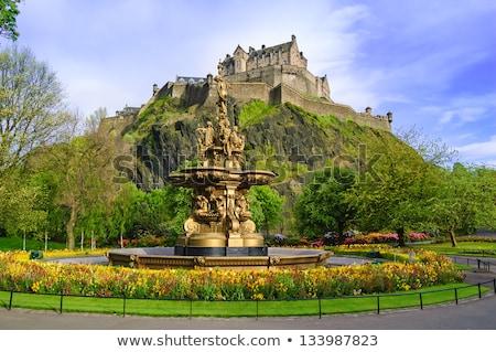 Edinburgh Castle Fortress Stock photo © searagen