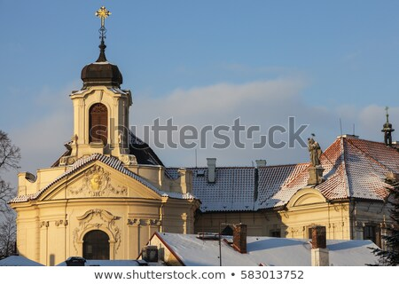 Church of the Most Sacred Heart of Our Lord in Kutna Hora Stock photo © benkrut