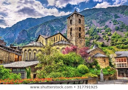 Architectuur Andorra la gebouw stad reizen Stockfoto © benkrut