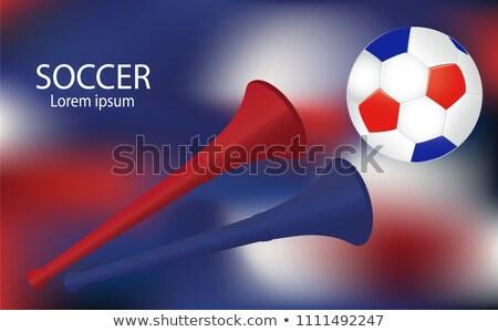 color · fútbol · emblema · deporte · diseno · verde - foto stock © robuart