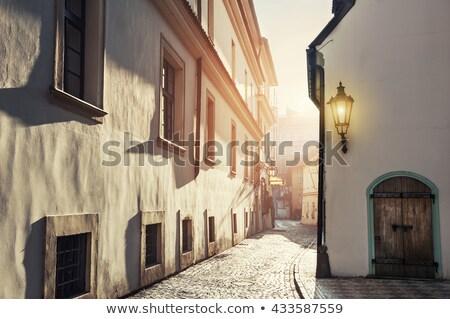 old street of prague stock photo © givaga