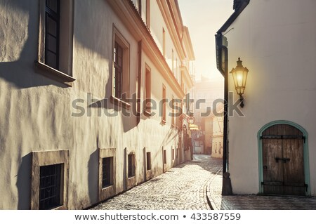 Stok fotoğraf: Old Street Of Prague
