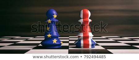 Reino Unido desafiar crise votar confusão union jack Foto stock © Lightsource