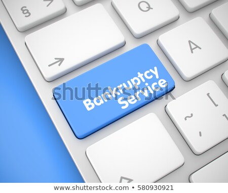 credit counseling   message on the blue keyboard keypad 3d stock photo © tashatuvango