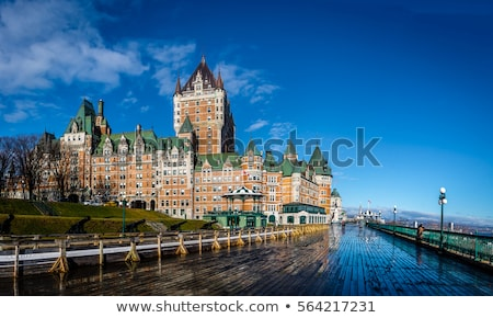 Historic Chateau Frontenac in Quebec City Stock photo © Lopolo