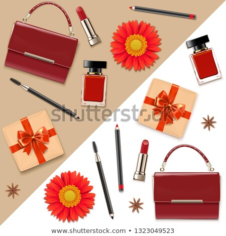 vector female accessories double set 5 stock photo © dashadima
