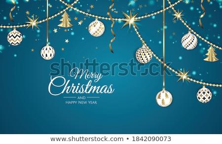 vrolijk · christmas · grappig · boom · gelukkig - stockfoto © colematt