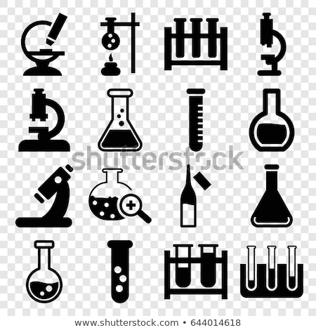 Test Tube Icon. chemical tube, vector illustration isolated on white background. Stock photo © kyryloff