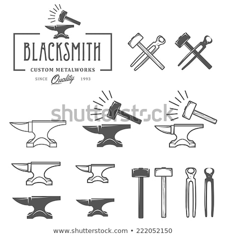 anvil and hammer Stock photo © guffoto