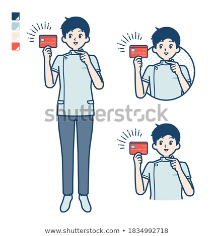костоправ набор человека деньги успех вектора Сток-фото © toyotoyo