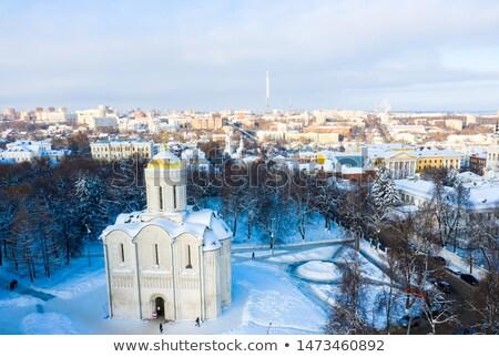 ストックフォト: Cathedral Of Saint Demetrius Vladimir Russia
