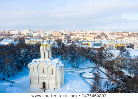 Cathedral of Saint Demetrius, Vladimir, Russia stock photo © borisb17