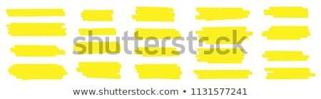 Colored Pencils Rectangle Banner Stock photo © limbi007
