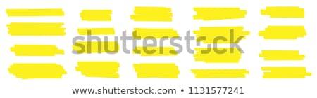 gekleurd · pennen · bal · geïsoleerd · witte · business - stockfoto © limbi007