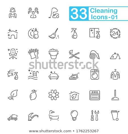 洗浄 エージェント カーペット アイコン ベクトル ストックフォト © pikepicture