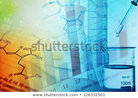 Analytical Chemists working in the lab Stock photo © Kzenon