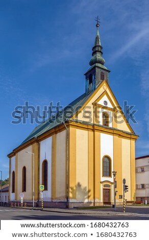 Lutheran Church Bardejov Slovakia Stockfoto © Borisb17