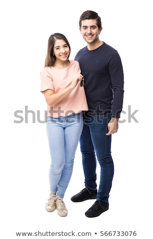 Young couple standing by a car Stock photo © photography33