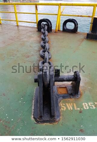 Rusty boat stopper Stock photo © blanaru