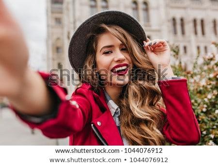 Giovani bella ragazza piazza ragazza primavera strada Foto d'archivio © Andersonrise