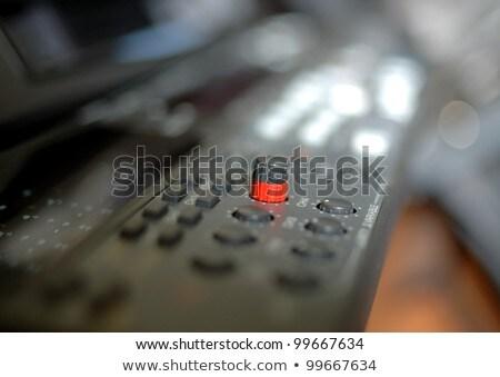 Közelkép elöl panel profi videomagnó mélységélesség Stock fotó © d13